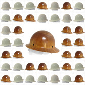 MSA Skullgard Full Brim Hard Hats