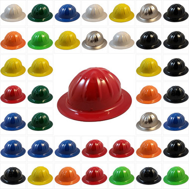 SkullBucket Aluminum Full Brim Hard Hats