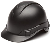 Pyramex Ridgeline Cap Style Hard Hat with Black Graphite Pattern Oblique
