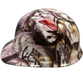 American Flag Camo Hydro Dipped Cap Style Hard Hat pic 1