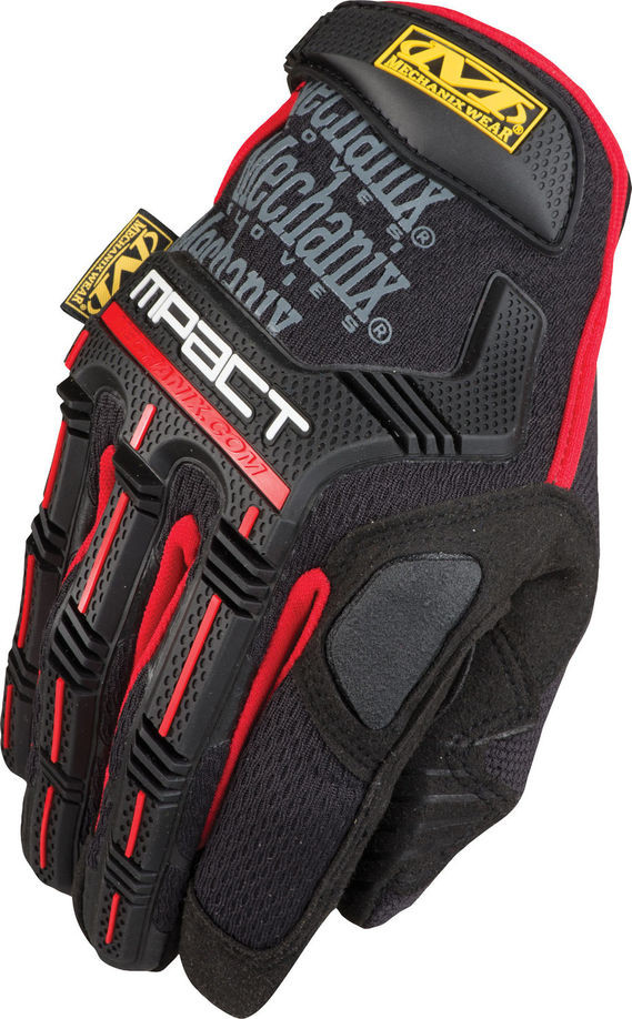 Mechanix MPT M-Pact Glove Black/Red (Pair) - All Sizes