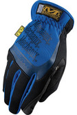 Mechanix Fast Fit Blue Gloves, Part # MFF-03 pic 2