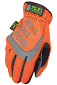 Mechanix Fast Fit Hi Viz Orange Gloves, Part # SFF-99 pic 2