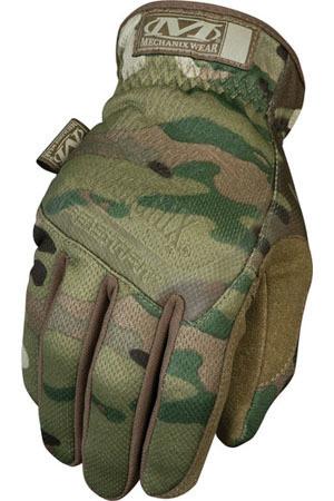Mechanix Fast Fit Gloves Glove Multi Cam (Pair) Medium Size ~ Back View