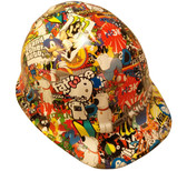 Cartoon Sticker Bomb 2 Hydro Dipped Hard Hats Cap Style