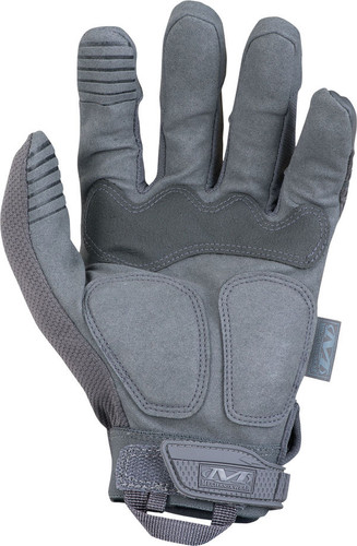 Mechanix M-Pact Wolf Grey Color Gloves, Part # MPT-88 Back