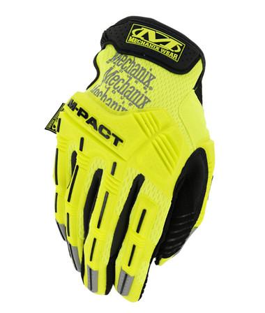 Mechanix M-Pact Hi Viz Yellow Gloves, Part # SMP-91-009