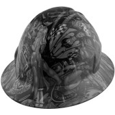 Shaw Naughty Dirty Side Hydro Dipped Hard Hats Full Brim Style