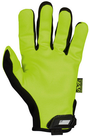 Mechanix Original Hi Viz Lime Gloves, Part # SMG-91 pic 1