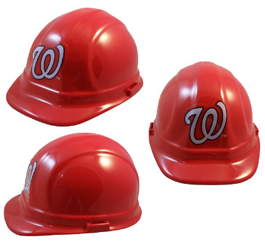 ff2e840b8 Loading zoom. Washington Nationals Hard Hats. Oblique View