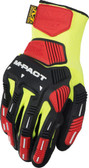 Mechanix ORHD Knit Utility Yellow Glove ~ Back View