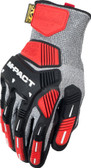 Mechanix ORHD Knit CR5 Gray Glove ~ Back View