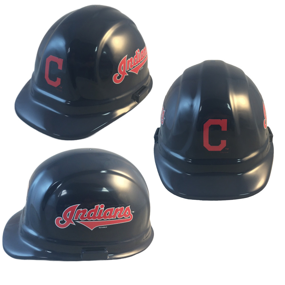 1ac83366ff6 Cleveland Indians Hard Hats. Loading zoom