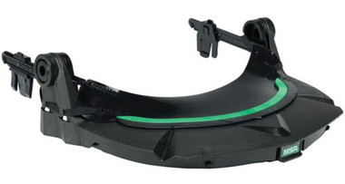 MSA V-Gard Full Brim Style Face Shield Adapter side