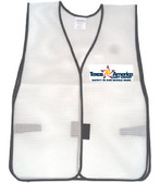 Add A Graphics Logo to Your White Safety Vests (MULTI COLOR)