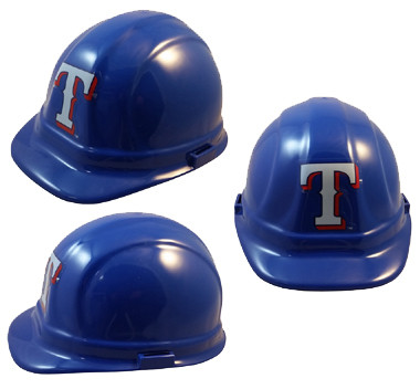 Texas Rangers Hard Hats