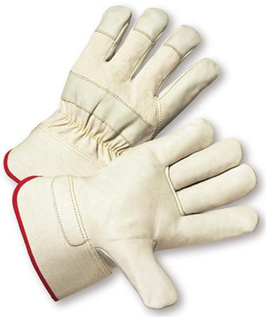Top Grain Cowhide w/ Safety Cuff Gloves Pic 1