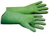 Nitrile Flock Lined 18 Mil Glove 13 inch length Pic 1