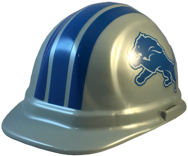 Detroit Lions NFL Hardhats- Oblique View