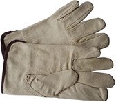 Unlined Pigskin Driver Leather Work Gloves Pic 1