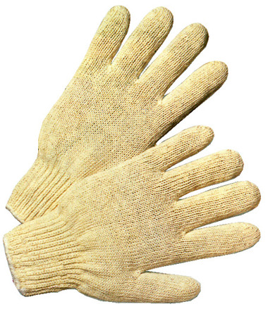 Cotton Polyester String Knit Gloves Pic 1