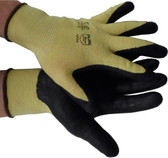 Nitrile Coated Kevlar String Knit with black palm Pic 1