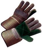 Double Palm Work Glove w/ Gauntlet Cuffs Pic 1