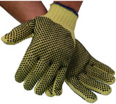 Unlined Economy Kevlar Glove w/ Dots on Both Sides Pic 1
