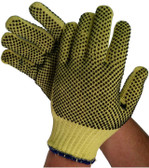 Unlined Kevlar Gloves w/ Dots on Both Sides Pic 1