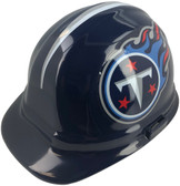 Tennessee Titans NFL Hardhats  ~ Left Side Oblique View