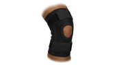Ambidextrous Knee Sleeve with Open Patella and Straps (EACH) (BKS500) Pic1