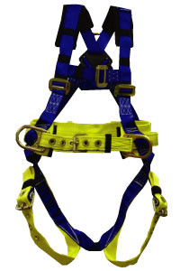 Big and Tall Safety Harness with 3 D-Rings Pic1