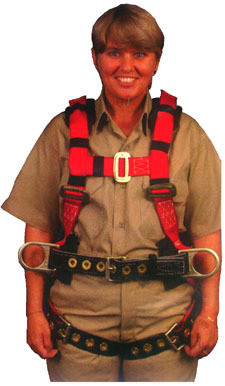 Eagle Harness Medium Size - Supplemental View