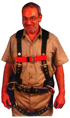 Iron Eagle Harness X large Size  - Supplemental View