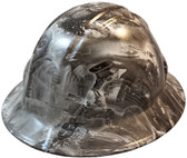 Modern Soldier Hydro Dipped Hard Hats Full Brim Design ~ Oblique View