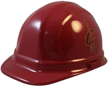 Cleveland Cavaliers Hard Hats - Oblique View