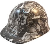 Skull Family Tree Hydro Dipped Hard Hats Cap Style ~ Oblique View