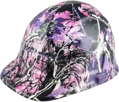Glamour Camo Pink Hydro Dipped Hard Hats Cap Style Design