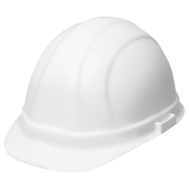 ERB Type II Cap Style Americana Hard Hat with Ratchet Suspensions ~ Oblique View