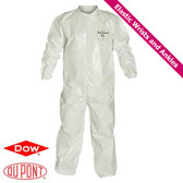 Tyvek Saranex SL Coverall with Elastic Wrists, Ankles  ~ Front View