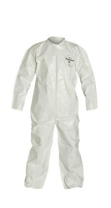 Tyvek Saranex SL Standard Suit w/ Zipper Front   pic 4