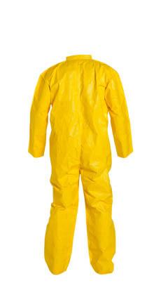Tyvek QC Coveralls Standard Suit, Serged Seams, w/ Zipper  pic 2
