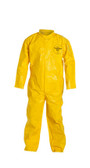 Tyvek QC Coveralls Standard Suit, Serged Seams, with Zipper Front (12 per case) ~ Size Large