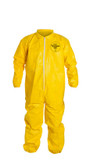 Tyvek QC Coveralls, Serged Seams, with Elastic Wrists and Ankles (12 per case) ~ Size Medium