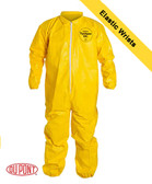 Tyvek QC Coveralls Serged Seams w/ Elastic Wrists Ankles