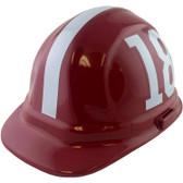 Alabama Crimson Tide Hard Hats - Oblique View