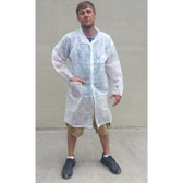 Polypropylene Lab Coats 1.25 oz Two Pockets  pic 1