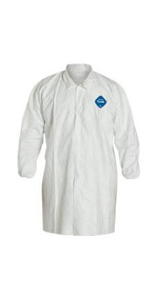 Tyvek Lab Coats Plain Lab Coats (30 per case)  pic 1