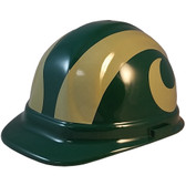 Colorado State Rams Hard Hats  - Oblique View