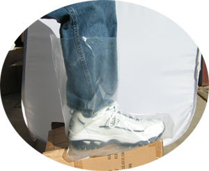 Plastic Disposable 6 mil Boot Covers   pic 1